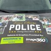 Image360 Eau Clair Supports Community Relations with Donated Vehicle Wrap