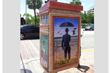 - Image360-Ft.Lauderdale - Fine Art- Utility Box Wrap
