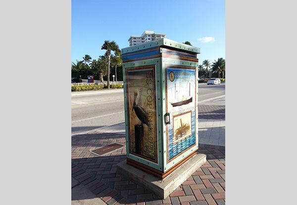 Utility Box Wrap in Fort Lauderdale, FL