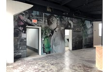 Interior Wall Graphic for Hermanos Design in Kansas City, Missouri