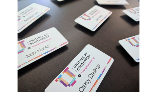 Name Badges for Dastrup Creative Group in Kansas City, Missouri