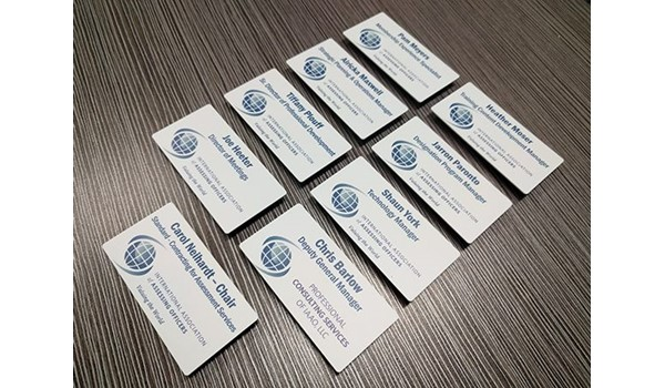 Name Badges for IAAO in Kansas City, Missouri