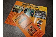 Full Color Gloss Tri-Fold Brochures for Missouri E-Raffle
