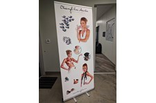Retractable Banner Stand for ArtsKC in Kansas City, Missouri