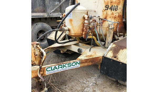Equipment Decal for Clarkson Construction in Kansas City, Missouri