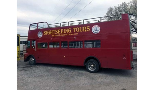 Bus Decals and Lettering for KC Doubledecker Tours in Kansas City, Missouri