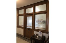 Interior Window Graphics for Allenbrand in Kansas City, Missouri