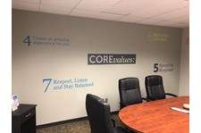Interior Wall Graphic Decals for Fairway Independent Mortgage in Overland Park, Kansas