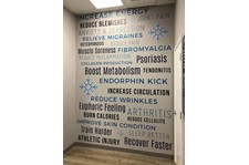 Interior Wall Graphic for KC Cryo in Lee