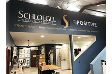 Interior Cut Vinyl Wall Graphic for Schloegel Design Remodel in Kansas City, Missouri