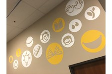 Interior Wall Graphics for Studentreasures Publishing in Topeka, Kansas
