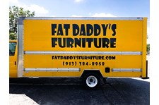 Box Truck Vinyl Vehicle Graphic Lettering for Fat Daddy