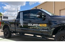 Vehicle Pickup Truck Graphics for Goliath Tech in Kansas City, Missouri