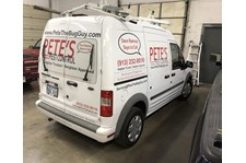 Partial Vehicle Graphics for Pete