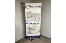 Retractable Banner Stand for Etched in Kansas City, Missouri