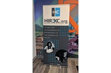 Retractable Banner Stand for Plexpod in Kansas City, Missouri