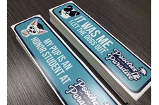 Bumper Stickers for Pooches Paradise in Kansas City, Missouri