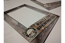 Foamcore Event Frames for Rusty Tin Brewing Company in Kansas City, Missouri
