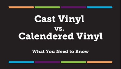 Cast Vinyl Vs Calendered Vinyl What You Need To Know