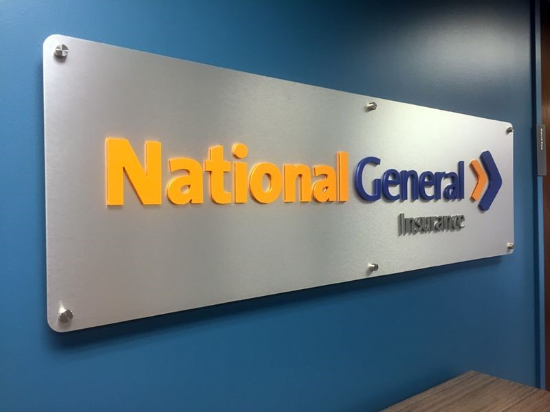 Brushed Aluminum with Acrylic Lettering and Aluminum Standoffs in Kansas City, MO