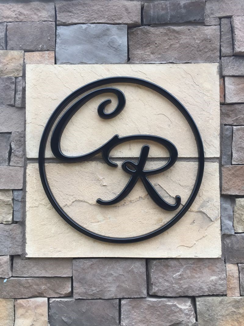 Dimensional Formed Plastic Logos for Chapel Ridge in Kansas City, Missouri