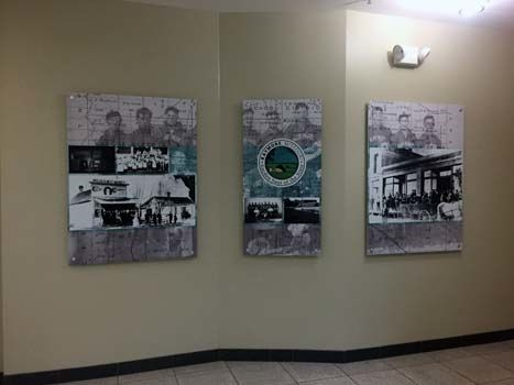 PVC Interior Displays for the City of Raymore in Raymore, MO