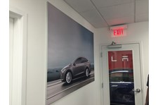 SEG Fabric Graphic for Tesla in Kansas City, MO
