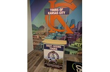 Kiosk Graphics for KC Doubledecker Tours in Kansas City, Missouri