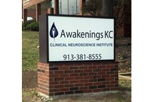 Awakenings KC Illuminated Monument Sign in Prairie Village, KS