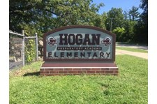 Exterior HDU Monument Sign for Hogan Preparatory Academy in Kansas City, Missouri