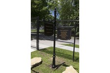 Exterior Ornamental Post and Panels for Kansas City Rescue Mission in Kansas City, MO