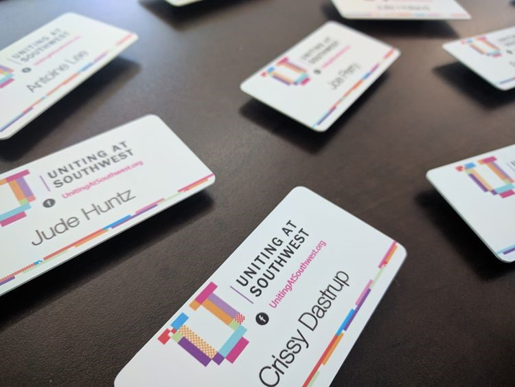 Name Badges for Dastrup Creative Group in Kansas City, MO