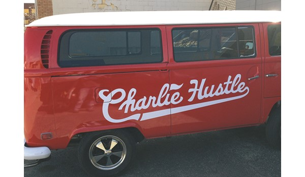 VW Bus Graphic for Charlie Hustle in Kansas City, MO
