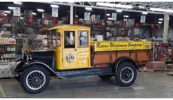 Graphics for Antique Truck for Reeves-Wiedeman in Kansas City, MO