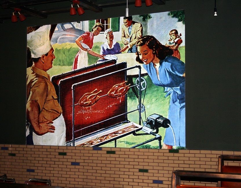 Wall Graphic for Char Bar in Kansas City, MO