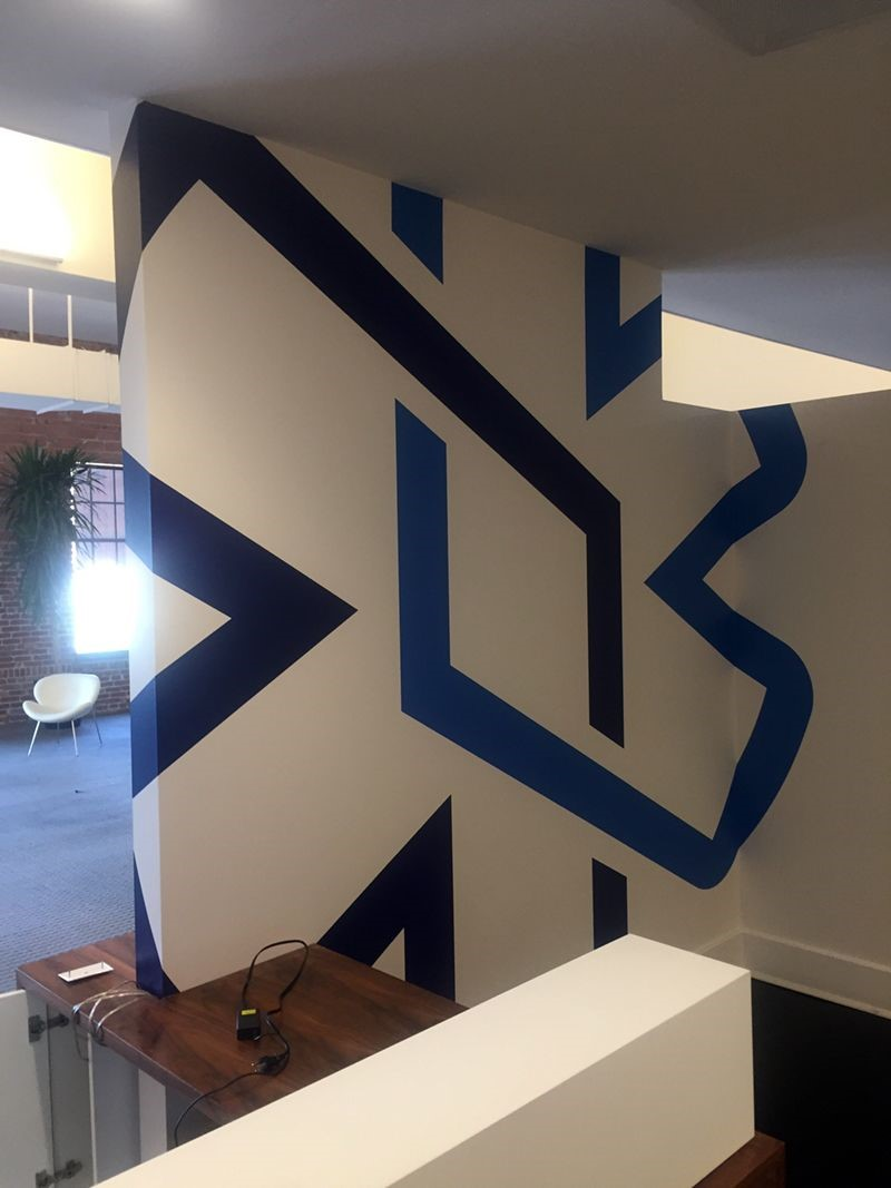 Interior Cut Vinyl Wall Graphic for Engage Mobile in Kansas City, Missouri