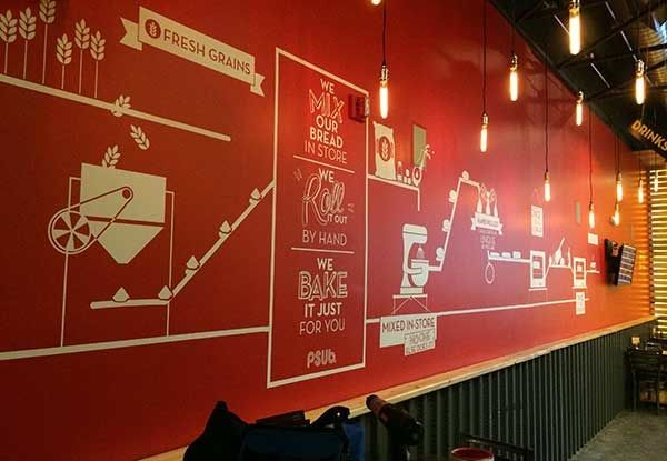 Wall Graphics for Planet Sub