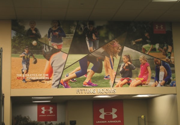 Wall Graphics for Scheels in Overland Park, KS