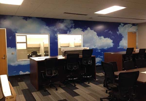 Wall Graphics for Sprint in Kansas City, MO