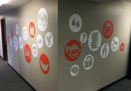 Wall Graphics for Student Treasures Publishing in Topeka, KS