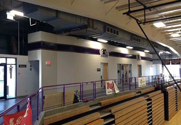 Gymnasium Wall Graphics for Avila University in Kansas City, MO
