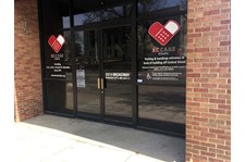 Window Graphics for KC Care Clinic in Kansas City, Missouri