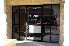 Exterior Frosted Window Graphics for Tivol at the Hawthorne Plaza