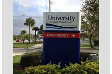 - Monument-Entrance-Signage-Healthcare-University Hospital-Image360-Lauderhill