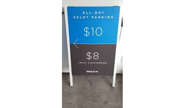 A-Frame Signs, Easel Signs & Sandwich Boards | Image360 South Bay ...