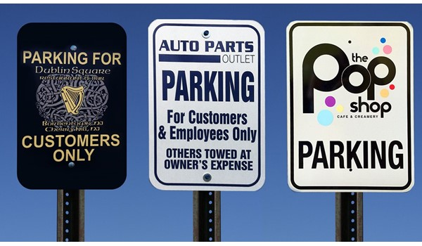 Street & Parking Signs