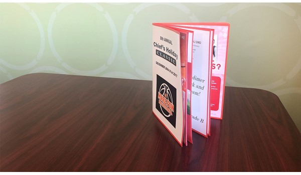 Brochures, Menus & Booklets