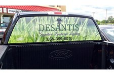 Desantis Landscaping - Window Perf Vehicle Graphics Marlton, NJ
