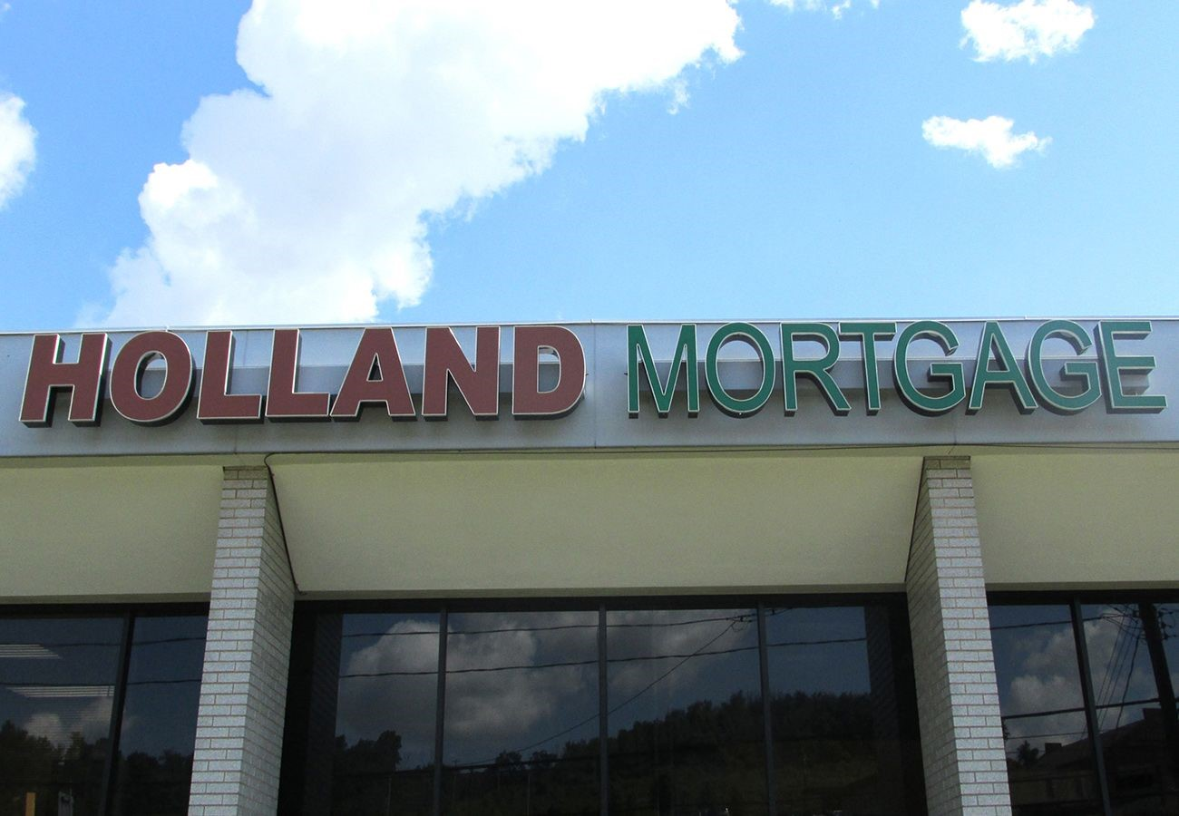 Channel Letters - Holland Mortgage Advisors