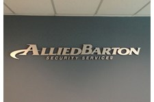 Dimensional Lettering - Allied Barton